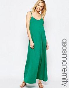 ASOS Maternité - Maxi robe à bretelles