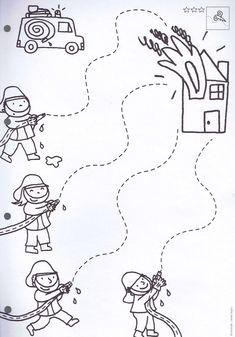 6 Community Helpers Preschool Crafts Worksheets Pin by Souzy on Preschool Worksheets Preschool Colors, Preschool Writing, Preschool Learning Activities, Preschool Printables, Kindergarten Worksheets, Preschool Activities, Tracing Worksheets, Preschool Centers, Space Activities