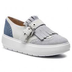 3fdaf4bcb9b Κλειστά παπούτσια GEOX - D Kaula B D92ANB 00022 C1QF3 Off White/Sage
