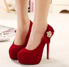 53ef4548a1d7f9 26.17 |Strass pompes noir chaussures à talons hauts arc talons femmes robe chaussures  chaussures mode chaussures sexy pompes rouge chaussures de mariée x246 ...