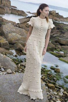 Crochet Dress Outfits, Crochet Wedding Dresses, Crochet Beach Dress, Crochet Summer Dresses, Crochet Clothes, Knit Dress, Crochet Woman, Crochet Baby, Filet Crochet