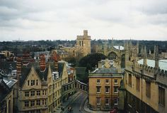 View from Sheldonian Theatre cupola c. 1999