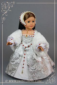 Tudor gown by Swish&Swirl