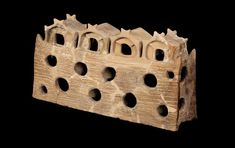 ARCHITECTURAL MODEL FOUND IN GUMELNITA (NOW BULGARIA), 4600BC: From a generator of ideas or a communication tool to a miniature utopia, the rich history of architectural models shows how they have developed with methods and technologies