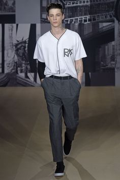 DKNY Men's RTW Spring 2015 [Photo by Giovanni Giannoni]
