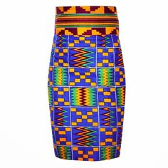 Blog - Item of the day: Fitted Kente Skirt | My Asho