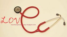 I made this with my #stethoscope