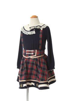 axes femme online shop|【OUTLET】(キッズ)チェック柄サス付きスカート