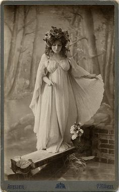 Art Noveau Fairy Queen by josefnovak33, via Flickr