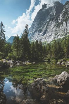 Mountain life | mountain | lake | water | fall | explore | nature | nature…