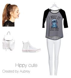 """""""Untitled #1"""" by aubreymccann on Polyvore featuring Burberry, dELiA*s, Converse, ASOS and Rebecca Minkoff"""