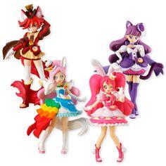 AmiAmi [Character & Hobby Shop]   KiraKira Precure A La Mode - Cutie Figure Vol.2 Special Set (CANDY TOY, Tentative Name)(Pre-order)