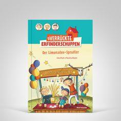 Lena Hach / Daniela Kulot. Der verrÜckte Erfinderschuppen - Der Limonaden-Sprudler. Mixtvision Verlag. #kinderbuch #erfinder #limonade #humor #witzig #abenteuer #spaß