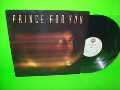 PRINCE For You Vintage VINYL Reissue Of 1st LP Just As Long As We're Together WB #Prince #Disco # Funk #R&B