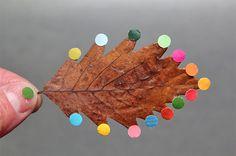 DIY Leaf art / Autumn inspiration