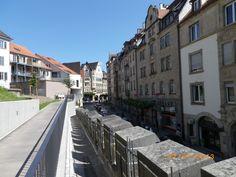 Blick zurück Richtung Lustnauer Tor...