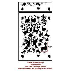999-otomi-pattern-wall-design-stencil