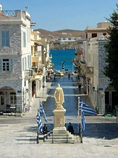 Syros Greece, Athens Greece, Places Around The World, Around The Worlds, Places In Greece, Greek Beauty, Exotic Places, Beautiful Places To Travel, Greece Travel