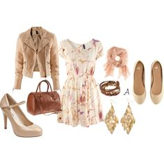 Cute late summer outfit - getting in the mood for autumn!