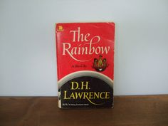 The Rainbow by D. H. Lawrence Viking Compass Edition by jessamyjay on Etsy
