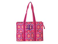 Monogrammed Moroccan Tile Organize it Tote