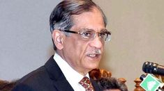 Chief Justice of Pakistan Justice Mian Saqib Nisar on Saturday said that the poor condition of medical facilities in the country is a failu. India Pakistan News, Pakistan Urdu, Urdu News Paper, Geo News, News 6, Geo Tv, Chief Justice, Bangla News, Ex Wives