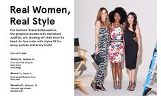 @justfabonline Real Women, Real Style photo shoot (that's me on the left! yay!)