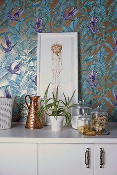 Matthew Williamson sunbird wallpaper http://www.depapelpintado.es/tienda/articulo/mathew-williamson/eden/id/7960