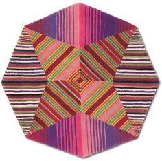 Missoni Home - Nabarniz Hexagonal Rug - 159 - 110cm