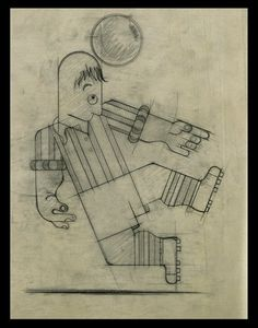 ¤ Dubonnet A. M. CASSANDRE sport. sketches for the Dubonnet calendar
