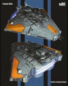 Amazing Spaceships Concept