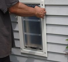 A Family, Health U0026 Lifestyle Blog   Endura Flap Wall Mount Dog Door By  PetDoors.com U2013 Installation And Review   Pet Doors For Dogs   Pinterest   Wall  Mount, ...