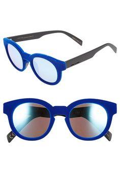 Italia Independent 51mm Retro Sunglasses