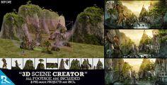 3D Scene Creator Kit