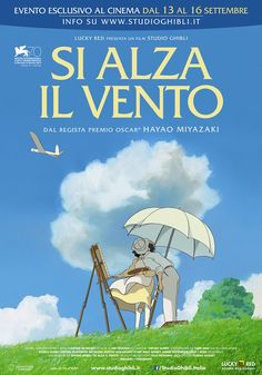 Studio Ghibli has announced the English language voice cast for The Wind Rises. Joseph Gordon-Levitt will front Hayao Miyazaki's film as the voice of aeronautical engineer Jiro Horikoshi. Jiro Horikoshi, Hayao Miyazaki, Studio Ghibli Films, Le Vent Se Leve, Dm Poster, Touchstone Pictures, Wind Rises, Watch Free Movies Online, Watch Movies