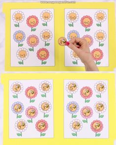 This addition file folder game is perfect for kindergarten and early grade 1 as it has simple math equations with addition to 5.