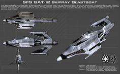 Skipray Blastboat ortho [New] by unusualsuspex on DeviantArt