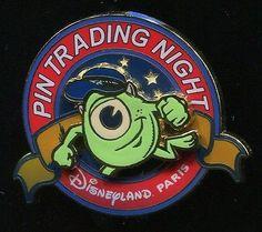 Disneyland Paris DLP Pin trading Night -  Mike Wazowski (No number on the back)