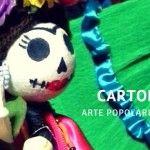 Cartoneria l'arte popolare messicana. #alebrijes #pinatas #calaveras #RocioOchoa http://teschiodizucchero.com/2015/10/05/cartoneria-arte-popolare-messicana-anche-in-italia/