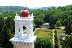 West Baden Springs royal garden