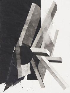 Ohne Titel, Aquarell auf Papier, Thomas Hauri