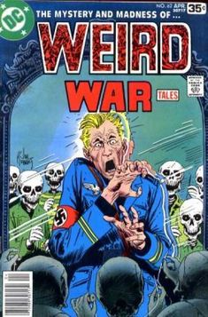 weird war  comics