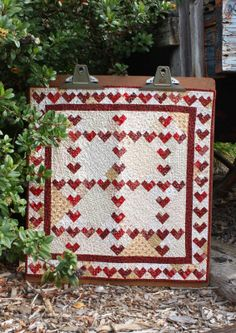 Happy Valentine's Day quilt