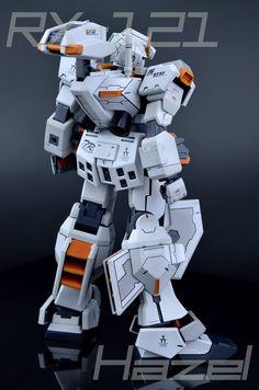GUNDAM GUY: [k's]1/100 RX-121 Gundam Hazel - Custom Build