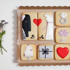 Pack completo galletas novios