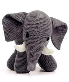 DIY Amigurumi Elephant - FREE Crochet Pattern / Tutorial