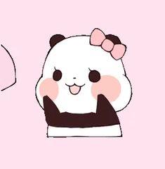 Kawaii Drawings, Cartoon Drawings, Cute Drawings, Panda Love, Cute Panda, Panda Wallpapers, Cute Wallpapers, Kawaii Wallpaper, Wallpaper Iphone Cute
