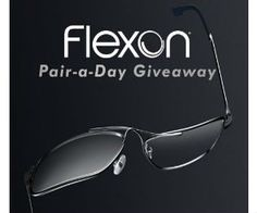 Win a Pair of Flexon Sunglasses, 21 Winners!