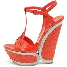 Casadei shoes in coral ~ Love these!
