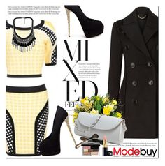 """""""Modebuy"""" by oshint ❤ liked on Polyvore featuring Burberry, Giuseppe Zanotti, Bobbi Brown Cosmetics and modebuy"""